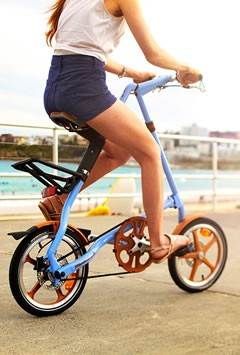 Bicycle OEM Manufacturing - STRIDA Folding Bicycle