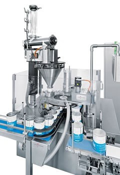 Swiss Can Machinery: Filling and Closing Machines for cans and jars
