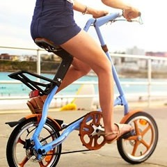 Taiwan - Bicycle OEM Manufacturing - STRIDA Folding Bicycle